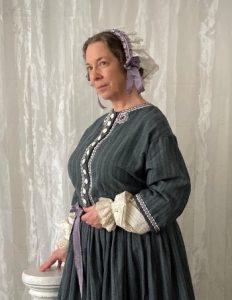 Photo of Kim Hanley as Elizabeth Cady Stanton