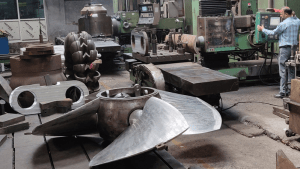 3D Inspection of Large Impeller Blades Saves Material Cost