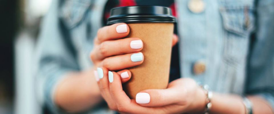 <cite>Efetova Anna / Shutterstock</cite> <br>Suze Orman says your carryout coffee habit costs you $1 million.<br>